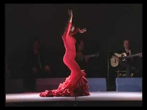 Baile Flamenco Sandra Guerrero La Negra Bailaora Flamenco Youtube