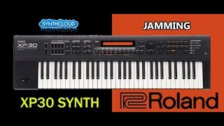 Roland Xp30 Synth performed by S4K ( xp50 xp80 space4keys demo )