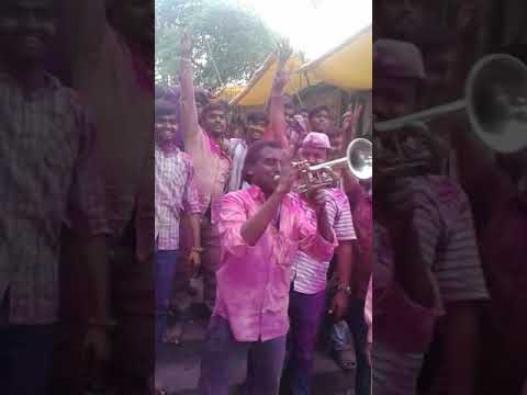 IPL music on brass band