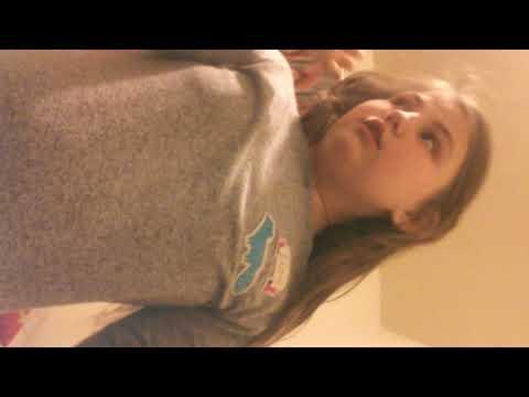 Hailey doing gymnastics