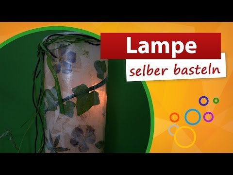Lampe Selber Basteln | Bastelidee Trendmarkt24