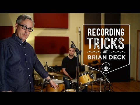 How To Record Drums with 1, 2, 3, 4, or 5 Microphones with Brian Deck | Reverb.com