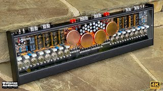 Stereo Integrity's Beautiful 200x4 SIQ-200.4 Class A/B Sound Quality Amplifier Tested [4K]