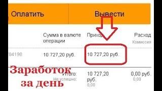 Как заработать в интернете 1000 рублей за 5 минут. Реальный заработок в интернете без вложений