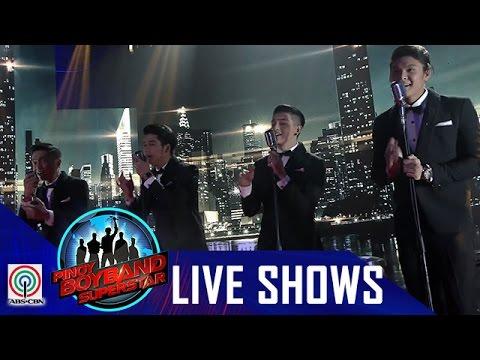 "Pinoy Boyband Superstar  Shows: Ford, Joao, Mark & Tristan  ""Hanggang Kailan"""