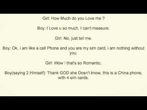 How Much Do You Love Me. Short Jokes And Sms