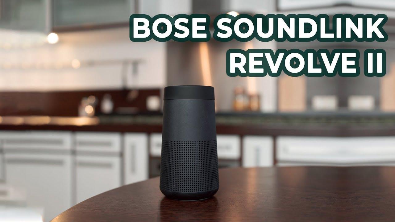 Bose Soundlink Revolve 2: Nâng Cấp Mạnh Mẽ với Mức Giá Không Đổi