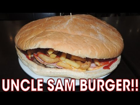 Uncle Sam's BURGER CHALLENGE in LIVERPOOL!!