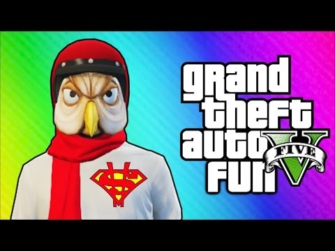 Thumbnail: GTA 5 Online Funny Moments - Helmet Glitch, Superman Truck, Jet Challenge Fails!
