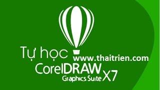[Tự học Corel Draw x7] - Bài 21. Thiết kế mặt đồng hồ treo tường 1