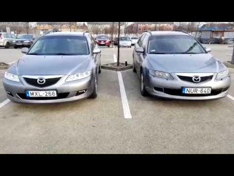 Mazda 6 – első generáció Facelift különbségek