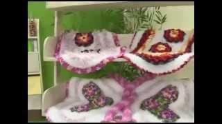Tapete Floral em Crochê – Maria José