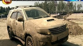 Living Cars: Toyota Fortuner goes off-road - NewsX