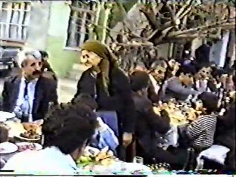 3ч. Свадьба в Арцахе.  с.Айгестан(Чайлу) ноябрь1988г