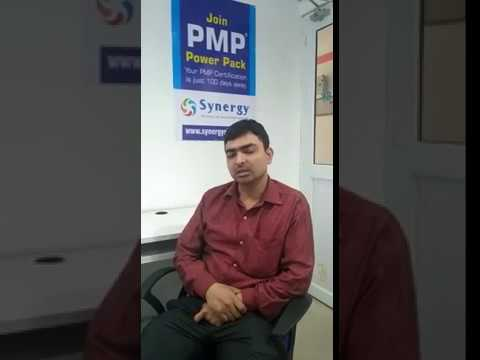 Synergy PMP Training Centre Hazratganj Lucknow Feedback by Student