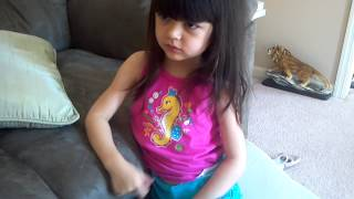 Girl refuses to use the potty.  Cannot change her mind.  SHOCKING.