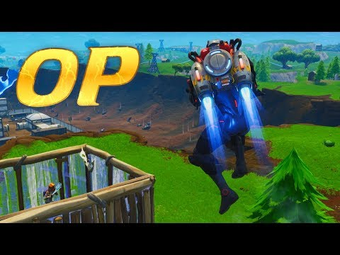 """The Most OP Combination in Fortnite """"JETPACK"""" + """"???"""""""