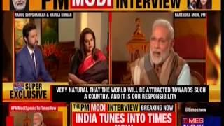 #PMModiSpeaksToTimesNow : PM Shri Narendra Modi's interview on Times Now : 21.01.2018