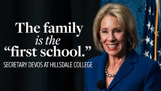 Remarks by Secretary DeVos, U.S. Department of Education (Introduction by Larry P. Arnn)
