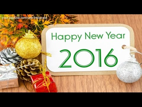 Happy New Year 2016 - Latest SMS/greetings...