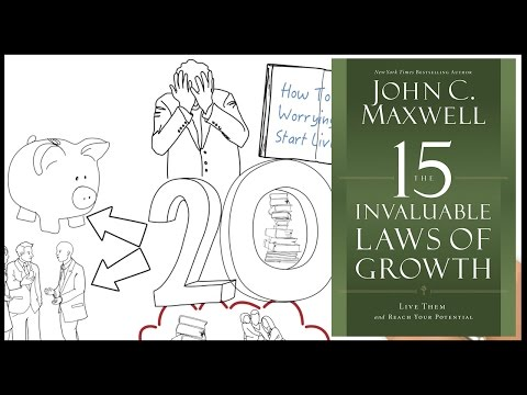 How To Grow Yourself - The 15 Invaluable Laws of Growth by John Maxwell | Animated Book Review