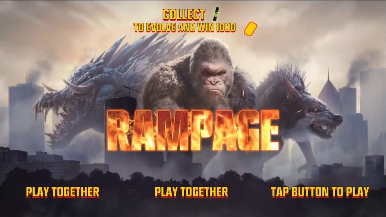 Rampage Arcade Game Youtube