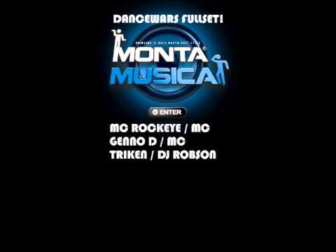 NEW MONKEY DANCEWARS  mc rockeye mc genno d mc triken full length set!