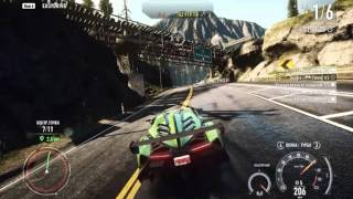 Need For Speed Rivals Nvidia Palit GTS 250 Gameplay