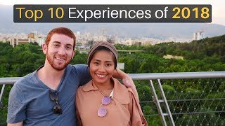 Top 10 Experiences of 2018... (41 Countries!)