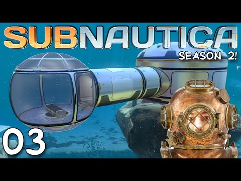 "Subnautica Gameplay S02E03 - ""NEW OBSERVATION DECK!!!"" 1080p PC"