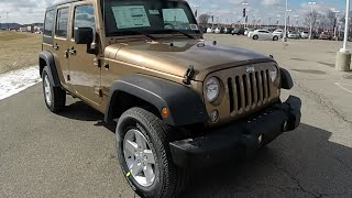 2015 Jeep Wrangler Unlimited Sport Copper Brown | 4 Door | 17813