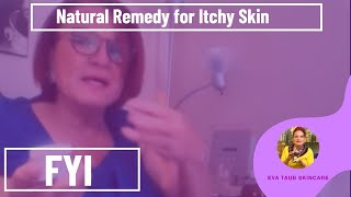 Natural Remedy for Itchy Skin / Eczema (Instant Relief)