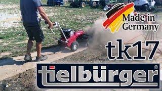 Подметальная машина Tielbürger TK17 в действии (теплое время года)