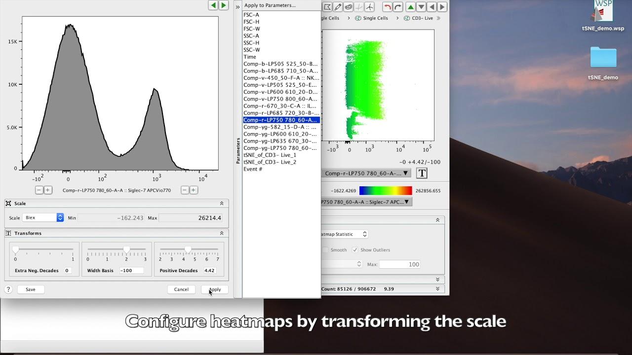 Tutorial Make Fancy Tsne Plots In Flowjo With Flow Cytometry Data Youtube