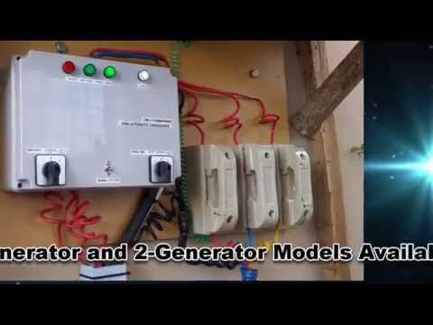 How an Automatic ChangeOver or ATS Controls Your Gen and Tra