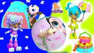 #КУКЛЫ ЛОЛ #МАЛЬЧИКИ! ПОХОД! КОШМАР НОЧЬЮ! ПУПСИКИ ЛОЛ + ШОПКИНС!  Мультик с Игрушками My Toys Pink