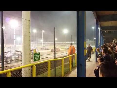 Final Car Ram at Arlington Raceway 7 September