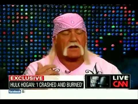 Hulk Hogan on Larry King Live 10/27/09 (Part 1)