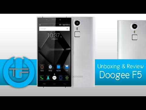 Doogee F5 Unboxing & Review