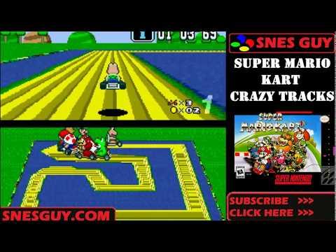 Is Super Mario Kart Crazy Tracks (SNES) Rom Hack Any Good?