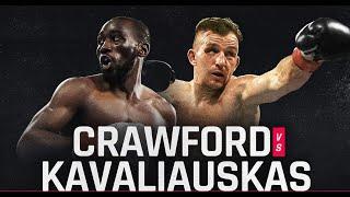 Terence Crawford vs Egidijus Kavaliauskas FULL FIGHT HIGHLIGHTS Теренс Кроуфорд Эгидиюс Каваляускас