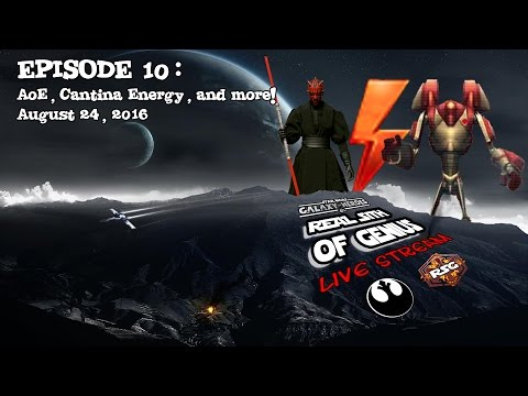 SWGOH Live Stream Episode 10: AoE, Cantina Energy, And More! | Star Wars: Galaxy Of Heroes