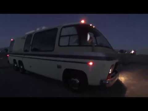 GMC Palm Beach Motorhome inside Lights and Running Lights