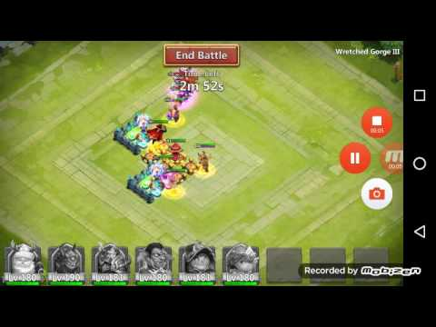 Castle Clash WG 3 Single