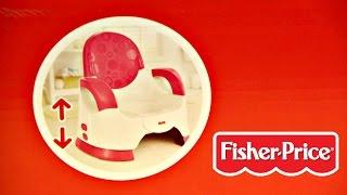 Custom Comfort Potty Training Seat For Girl / Komfortowy Nocniczek dla Dziewczynek - Fisher-Price