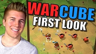 Warcube [WAR OF THE CUBES!!] Gameplay First Look - Let's Play Warcube!