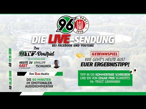 RE-LIVE: 96TV-Vorspiel & Das Rote Radio zum Heimspiel gegen