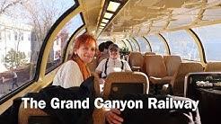 SEDONA AZ TO THE SOUTH RIM! VIA GRAND CANYON RAILWAY-WILLIAMS, AZ-EP44