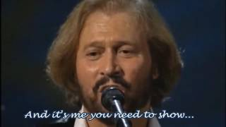 Video HOW DEEP IS YOUR LOVE - Bee Gees (Lyrics on) download MP3, 3GP, MP4, WEBM, AVI, FLV Desember 2017