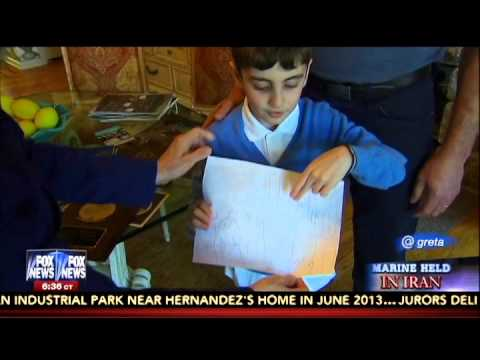 Amir Hekmati's 7-year-old Nephew Details his Plan to Free His Uncle